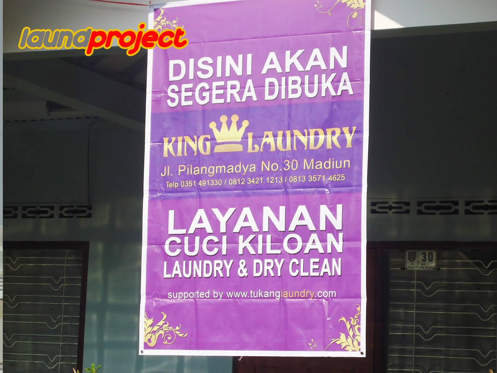 paket usaha laundry 10 juta